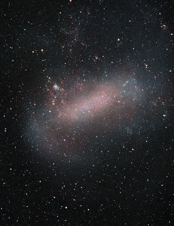 Large Magellanic Cloud Visible and Infrared Survey Telescope for Astronomy, 13 September 2019 Credit: ESO/VMC Survey