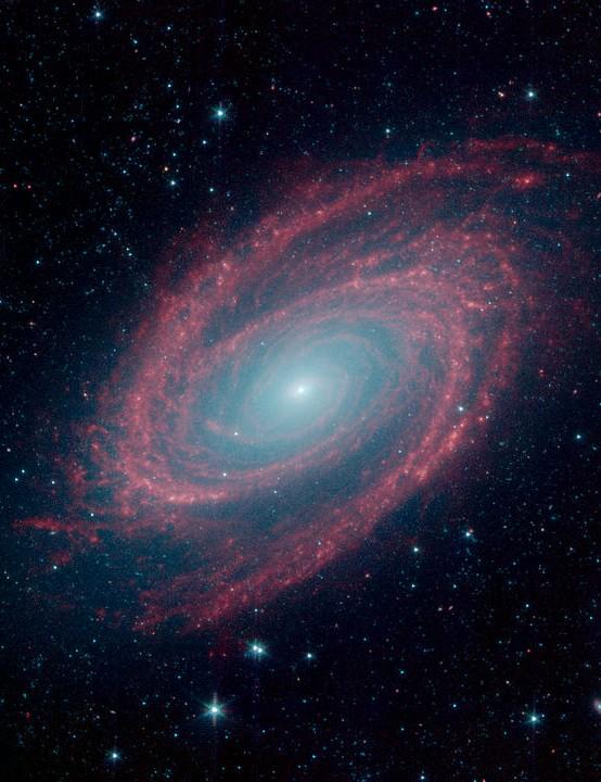 M81 Spitzer Space Telescope, 27 August 2019 Credit: NASA/JPL-Caltech