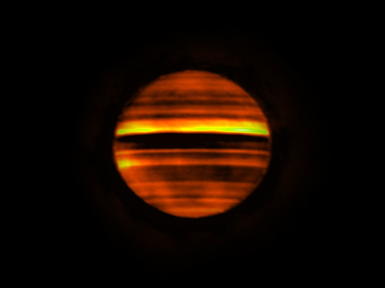 Radio waves reveal what's beneath Jupiter's clouds