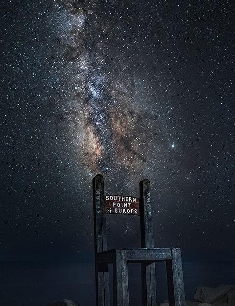 The Milky Way, Athanasios Theodorou, Gavdos, Greece, 1 September 2019 Equipment: Sony A6300 camera, Sigma 16mm f1.4 lens, tripod