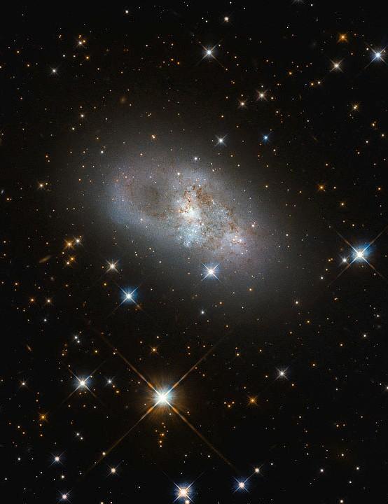 Galaxy IC 4653 Hubble Space Telescope, 21 October 2019ß CREDIT: ESA/Hubble & NASA, D. Rosario (CEA, Durham University)