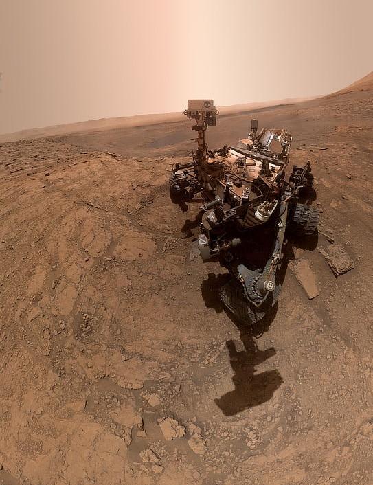 Curiosity selfie Curiosity Mars rover, 24 October 2019 Credit: NASA/JPL-Caltech/MSSS