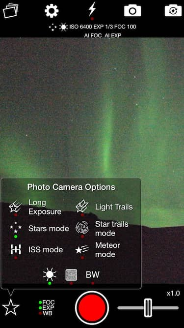 NightCap Camera for iPhone and iPad