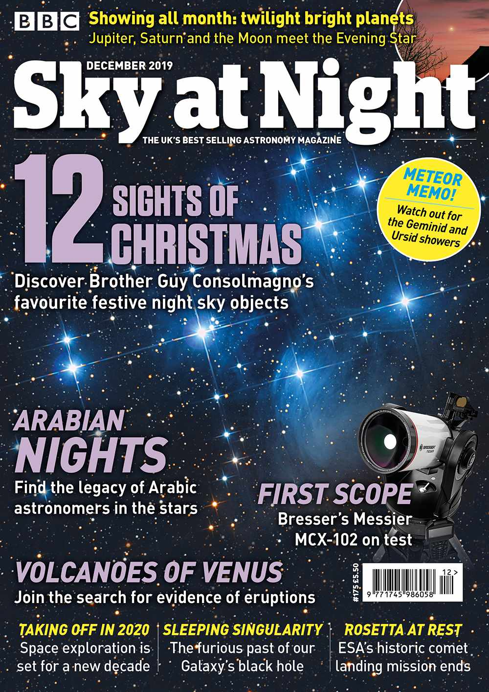 BBC Sky at Night Magazine December 2019 issue