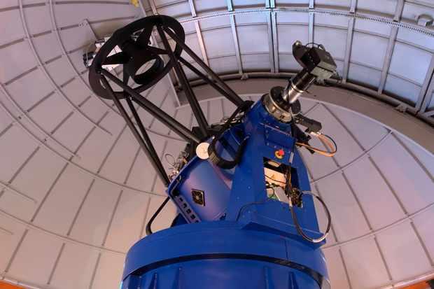 ULC Observatory's new Perren Telescope. Credit: UCL