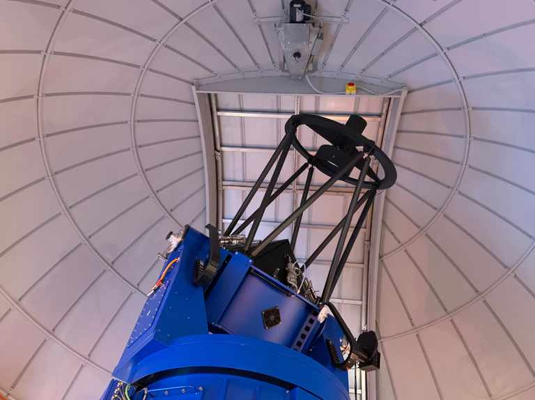 A look at UCL Observatory's new 80cm Perren telescope
