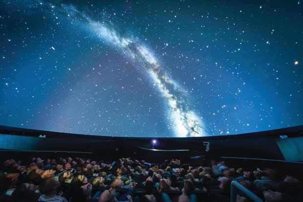 We The Curious Planetarium. Credit Lee Pullen