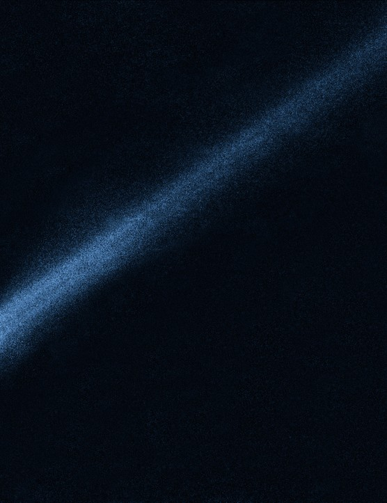P/2010 A2 2 February 2010. Newly discovered comet-like asteroid P/2010 A2 (now 354P/LINEAR). Analysis of Hubble's images suggested that its tail was generated by dust and gravel resulting from a recent head-on collision between asteroids. Credit: NASA, ESA and D. Jewitt (UCLA)