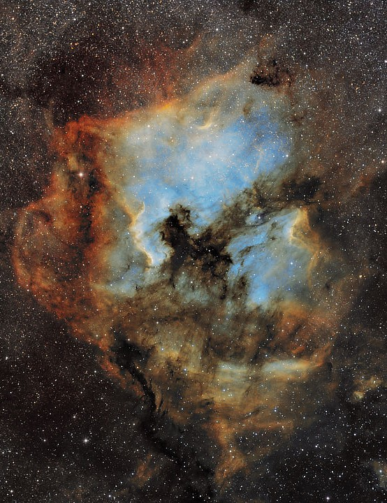 North America and Pelican Nebulae Keith Bramley, Pilling, Lancashire, September & October 2019. Equipment: Atik 383L+ CCD camera, Sky-Watcher EQ6 mount