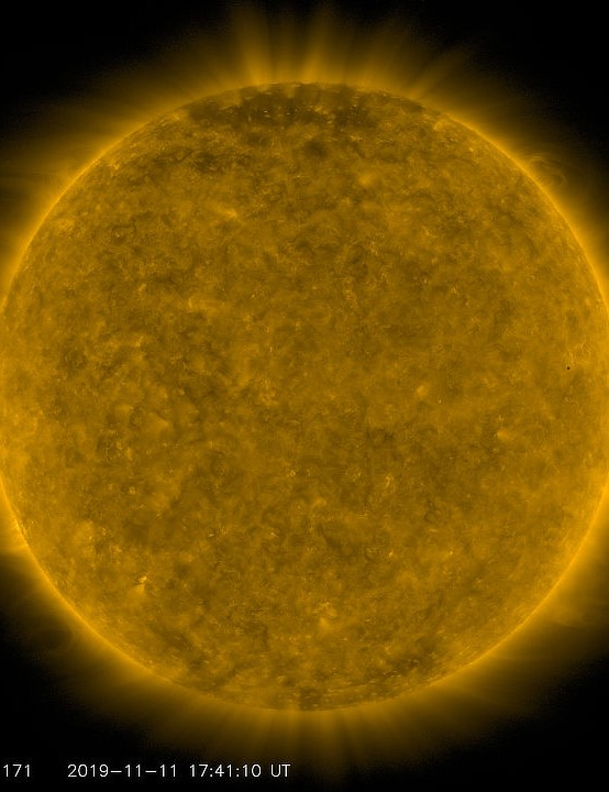 Mercury transit SOLAR DYNAMICS OBSERVATORY, 11 NOVEMBER 2019 Credit: NASA/SDO and the AIA, EVE, and HMI science teams