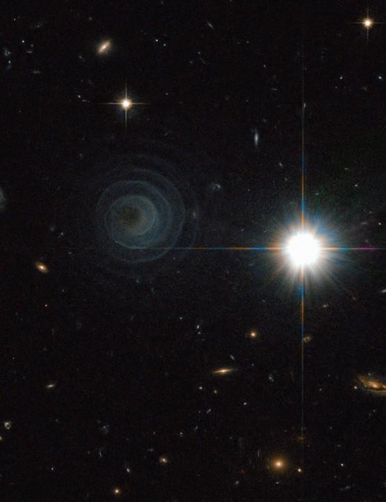 Planetary nebula LL Pegasi 6 September 2010. This remarkable picture shows a regular spiral pattern around star LL Pegasi in the constellation of Pegasus. Credit: ESA/NASA & R. Sahai