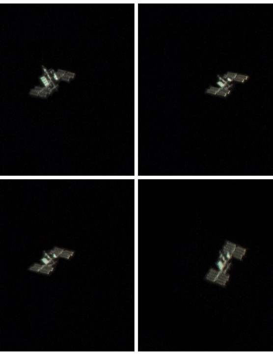 International Space Station Rich Addis, Wallasey, 28 March 2019 Equipment: ZWO ASI120MC CMOS camera, Celestron NexStar 6SE Schmidt-Cassegrain