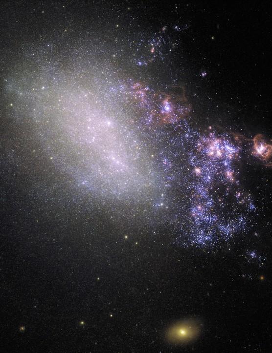 Irregular Galaxy NGC 4485 Hubble Space Telescope, 16 May 2019