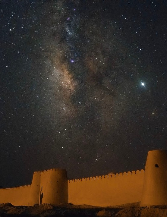 Milky Way Abolfazl Arab, Sistan, Iran, 30 July 2019. Equipment: Nikon D7200 DSLR