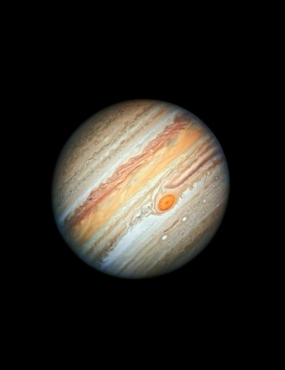 Jupiter Hubble Space Telescope, 27 June 2019
