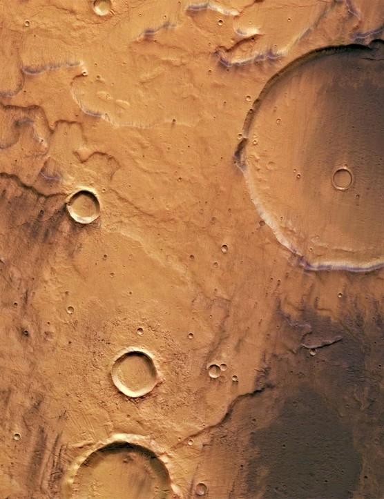 Terra Cimmeria, Mars Mars Express orbiter, 8 August 2019