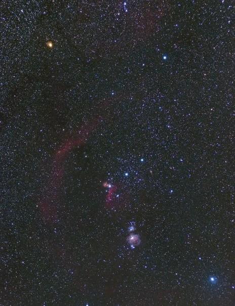 02 - Barnard's Loop Stuart Fraser, Wensleydale, North Yorkshire, 28 October 2019 Equipment: Canon 450D, Sky-Watcher Star Adventurer