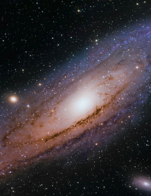 06 - The Andromeda Galaxy Brian Cummins, Virginia, USA, 1, 2, 24 & 25 November 2019 Equipment: ZWO ASI 1600MM-Pro mono camera, Orion 8