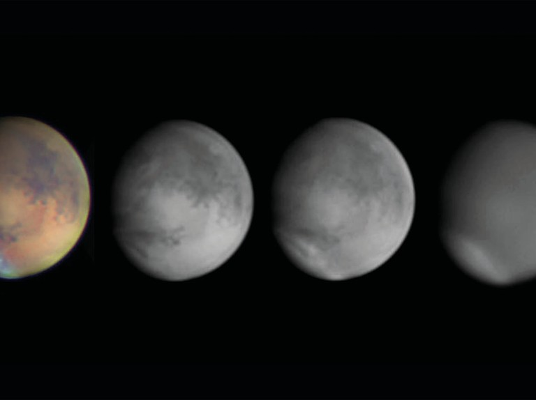 How to capture scientific images of Mars