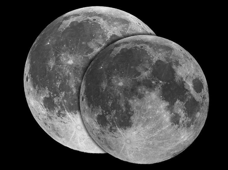 Observe the perigee full Moon on 8 February 2020