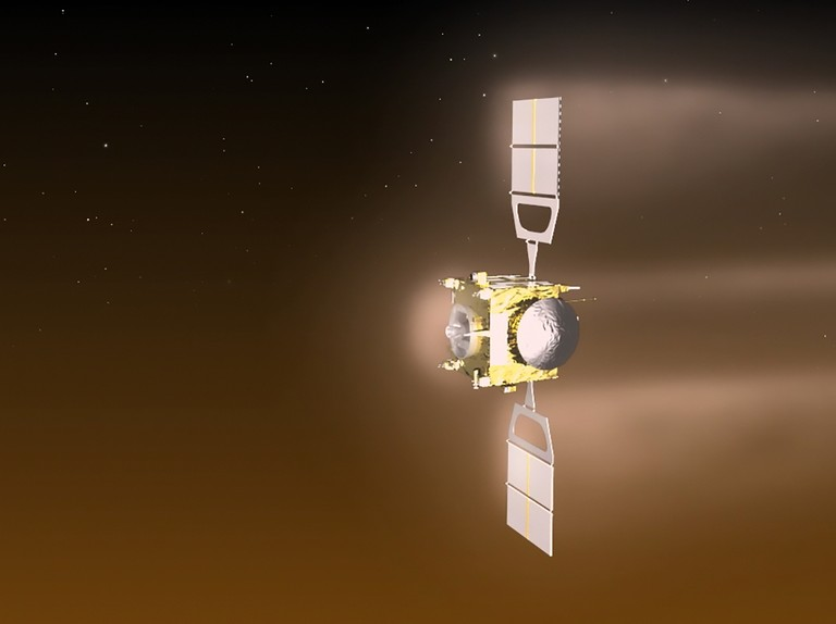 What did the Venus Express mission discover at Venus?
