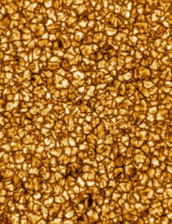 Sun close-up Daniel K. Inouye Solar Telescope, 29 January Credit: NSO/AURA/NSF