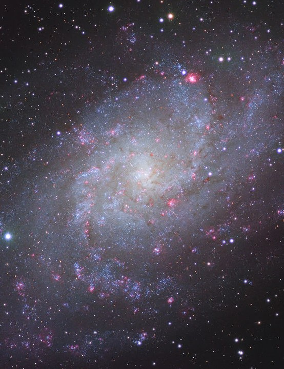 Triangulum Galaxy Mukund Raguram, California, USA, 1 & 2 November 2019 Equipment: ZWO ASI 1600MM mono camera, Explore Scientific ED127 apo refractor, EQ6-R Pro mount