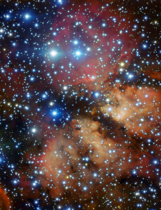 Emission nebula Gum 26 Very Large Telescope, 20 January 2020 Credit: ESO