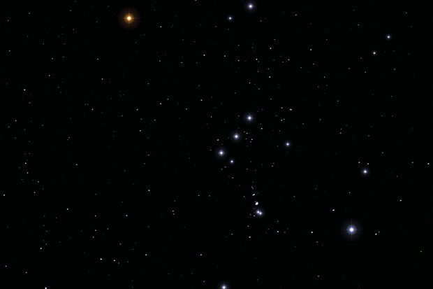 The Orion constellation. Credit: iStock
