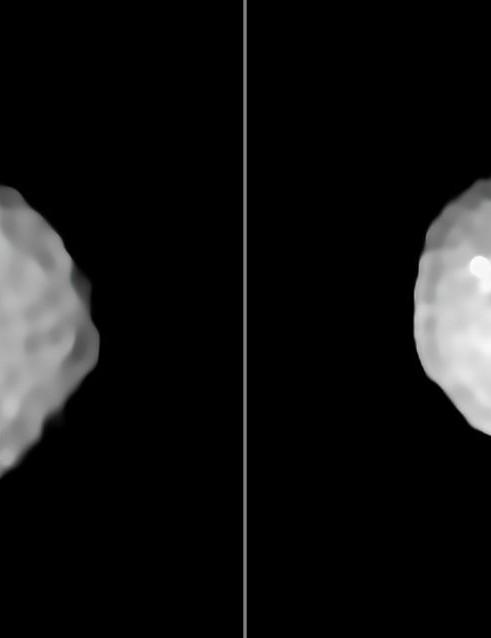 Pallas asteroid Very Large Telescope, 24 February 2020 Credit: ESO/M. Marsset et al./MISTRAL algorithm (ONERA/CNRS)