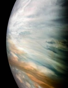 Jupiter's equator Juno spacecraft, 19 February 2020 Image Credit: NASA/JPL-Caltech/SwRI/MSSS/Kevin M. Gill