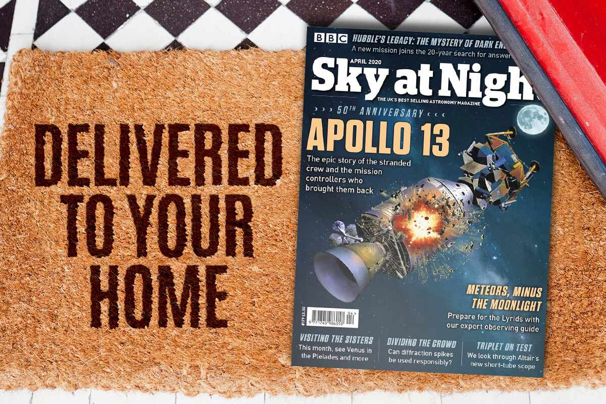 BBC Sky at Night Magazine delivery offer