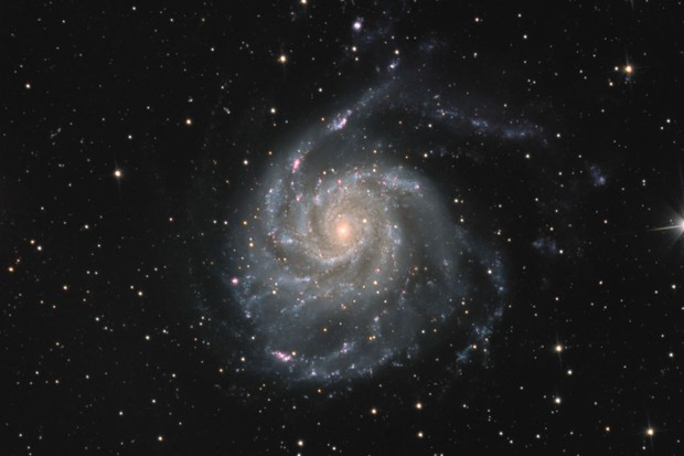 Pictures of the Pinwheel Galaxy