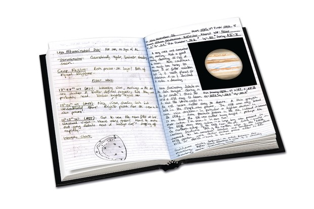 How to keep an astronomical log book