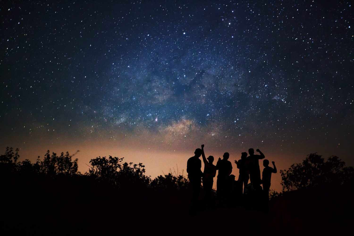 Best summer stars in the northern hemisphere. How many can you spot? Credit: Sarote Impheng / EyeEm / Getty Images
