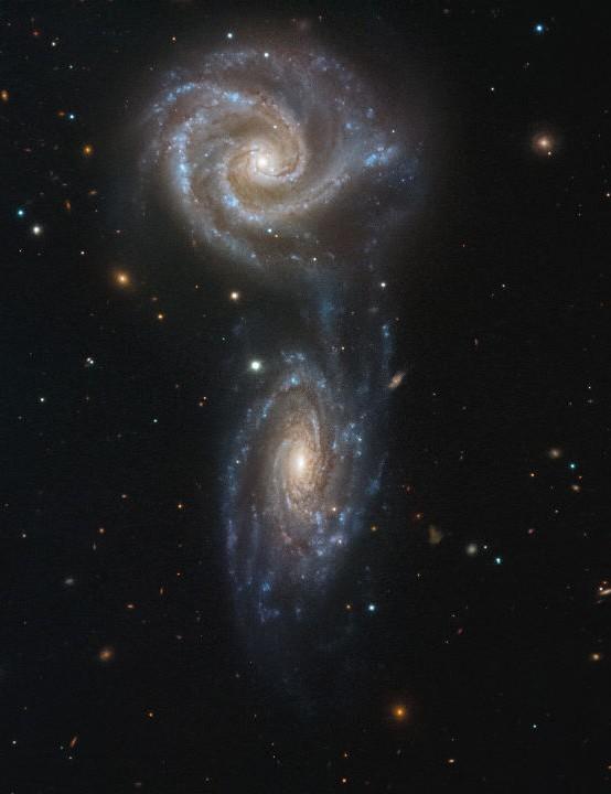 Arp 271 ESO, 18 May 2020. Credit: ESO