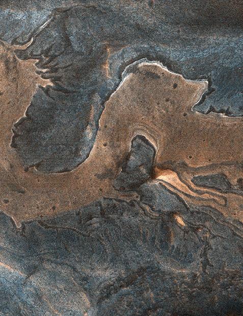 Dragon on Mars Mars Reconnaissance Orbiter, 11 April 2020. Credit: NASA/JPL/UARIZONA
