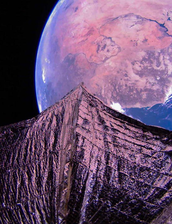 LightSail 2, 9 February 2020. Credit: The Planetary Society