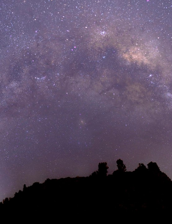 Milky Way panorama Sally Eyre, Wellington, New Zealand, 28 April 2020. Equipment: Canon 6D Mark II DSLR, Manfrotto mount with panoramic head