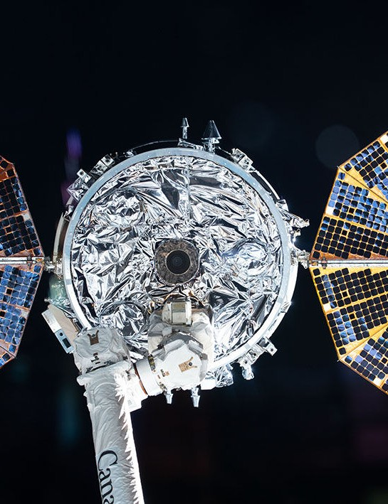 ISS releases Cygnus resupply ship, 11 May 2020. Credit: NASA