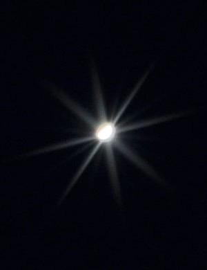 Venus AndyParrett, Hawstead, Suffolk, 25 April 2020. Equipment: Nikon D5000 DSLR, Sigma telephoto zoom lens at 500mm
