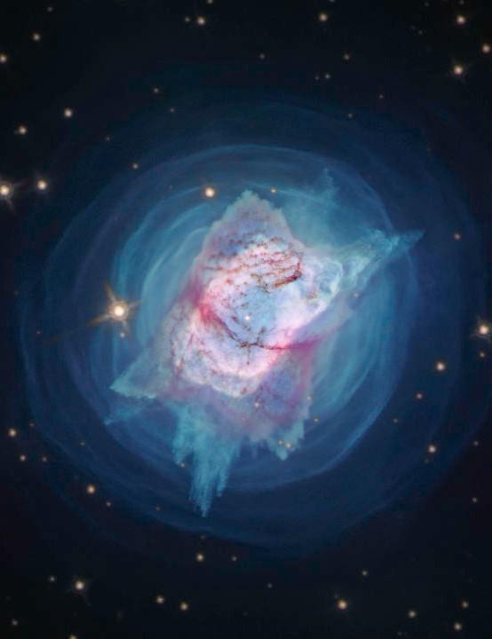 NGC 7027, Jewel Bug Nebula Hubble Space Telescope, 18 June 2020