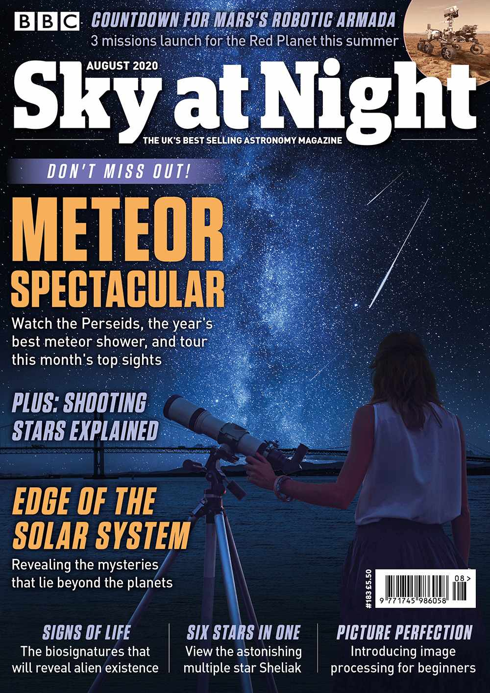 BBC Sky at Night Magazine August 2020 issue