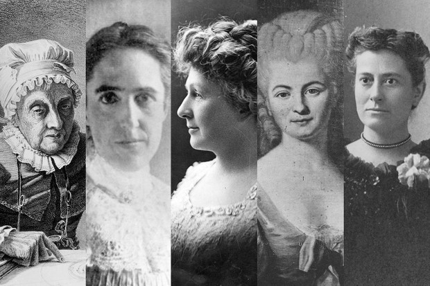 5 women astronomers with Moon craters named after them