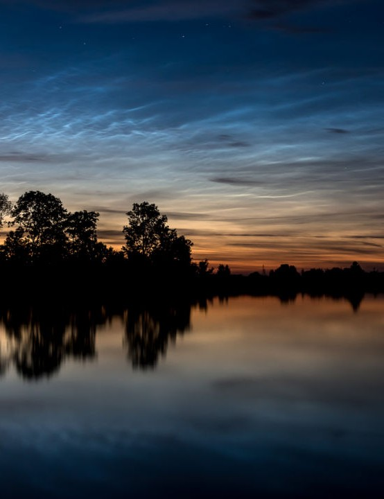 Noctilucent clouds Ronald van Dijk, Zwolle, Netherlands, 19 June 2020. Equipment: Canon 70D DSLR with Canon EF-S 18–135mm lens