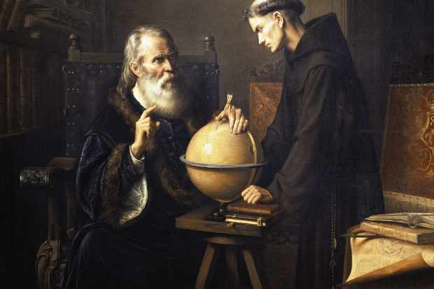 What did Galileo contribute to astronomy?