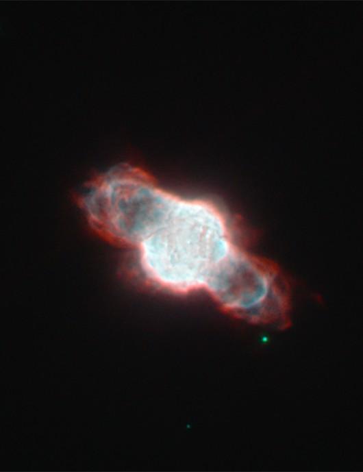 Planetary nebula NGC 6886, as seen by the Hubble Space Telescope. Credit: NASA/ESA Hubble