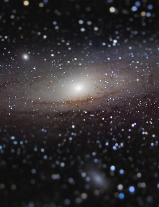 Andromeda Galaxy at Arm's Length? Nicolas Lefaudeux (France). Winner, Galaxies (and overall winner). Equipment: Sky-Watcher Black Diamond 100mm refractor, iOptron iEQ30 mount, Sony ILCE-7S camera (modified).