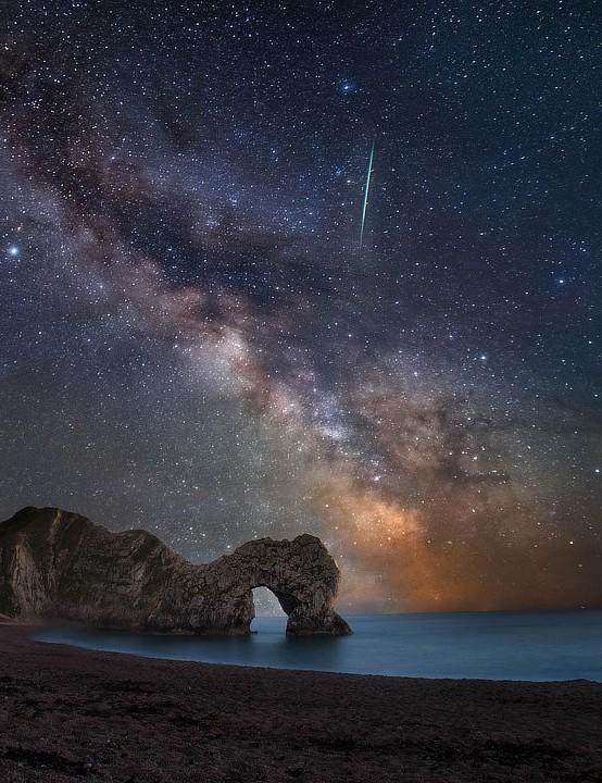 The Milky Way Kat Lawman, Dorset, 24 May 2020. Equipment: Canon 6D Mark II DSLR camera, Samyang 14mm lens