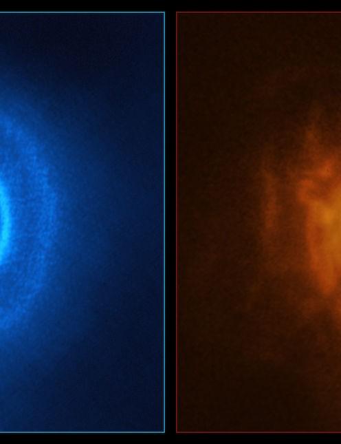 Misaligned rings in disc around triple star system GW Orionis Atacama Large Millimeter/submillimeter Array, 3 September 2020. Credit ESO/Exeter/Kraus et al., ALMA (ESO/NAOJ/NRAO)